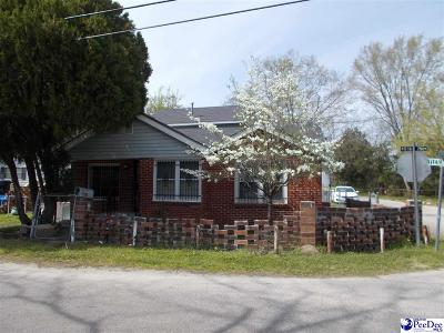 Hartsville Single Family Home For Sale: 310 Jasper Ave