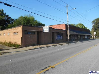 Florence, Flrorence, Pamplico Commercial For Sale: 1115 W Evans