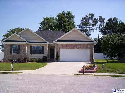 Florence Single Family Home Uc/Show For Back Up: 2805 Birkdale Court
