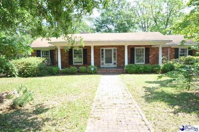 Bennettsville, Blenheim, Cilo, Clio, Mccoll, Tatum, Wallace Single Family Home Uc/Show For Back Up: 211 Tyson Ave