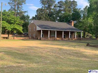 Kingstree Single Family Home For Sale: 1476 Woodland