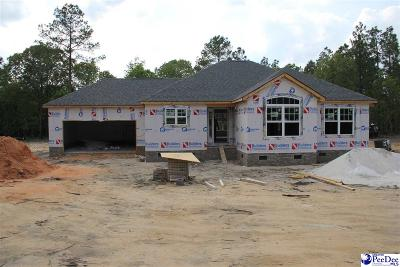 Hartsville Single Family Home Uc/Show For Back Up: 1746 Whipporwill
