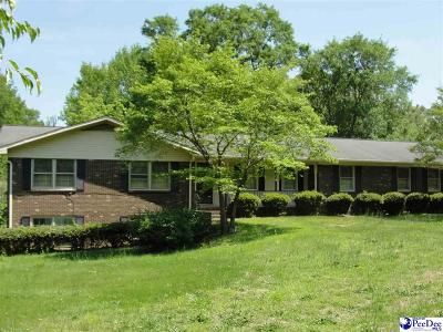 Bennettsville, Blenheim, Cilo, Clio, Mccoll, Tatum, Wallace Single Family Home For Sale: 708 Jefferson Street