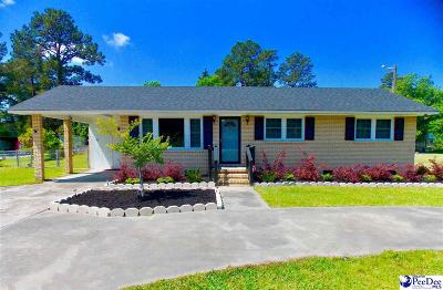 Florence Single Family Home For Sale: 2396 Pamplico Hwy