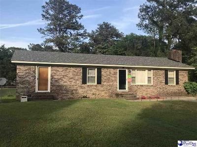 Bennettsville Single Family Home Uc/Show For Back Up: 515 Sherwood Dr