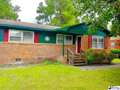 Marion SC Single Family Home For Sale: $68,000