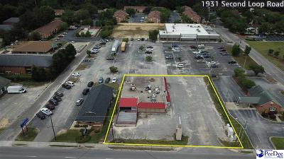 Florence, Flrorence, Marion, Pamplico Commercial For Sale: 1931 Second Loop Rd