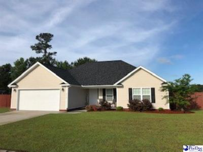 Florence County Single Family Home Uc/Show For Back Up: 3117 Haven Straits