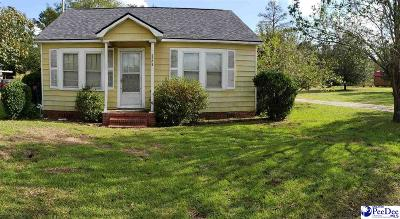Hartsville Single Family Home Uc/Show For Back Up: 905 Crowley St
