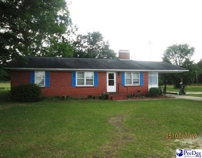 Bennettsville, Blenheim, Cilo, Clio, Mccoll, Tatum, Wallace Single Family Home Uc/Show For Back Up: 2070 W Highway 9
