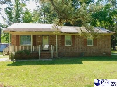 Marion SC Single Family Home Uc/Show For Back Up: $29,000
