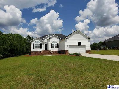 Hartsville Single Family Home Uc/Show For Back Up: 1416 Nottingham Drive