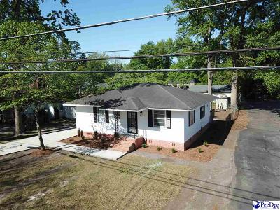 Florence Single Family Home Uc/Show For Back Up: 109 S Sunset Drive