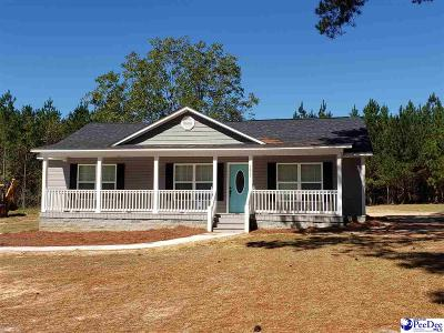 Hartsville Single Family Home Uc/Show For Back Up: 2832 New Market Road