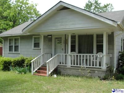 Bennettsville, Blenheim, Cilo, Clio, Mccoll, Tatum, Wallace Single Family Home For Sale: 905 Hamlet Hwy.
