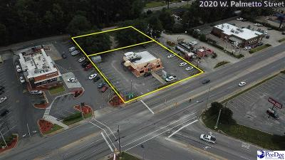 Florence, Flrorence, Marion, Pamplico Commercial For Sale: 2020 W Palmetto Street