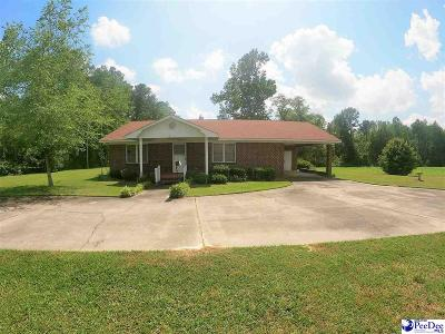 Lake View SC Single Family Home For Sale: $89,000