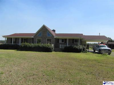 Timmonsville SC Single Family Home For Sale: $180,000