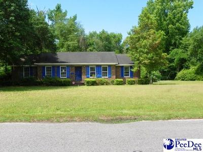 Kingstree Single Family Home For Sale: 1359 Woodland Dr