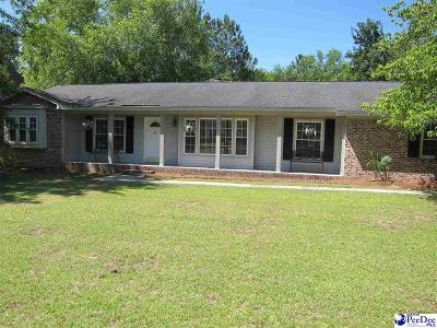 Hartsville Single Family Home Active-Price Change: 1125 Pinehurst Drive