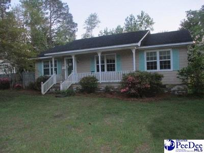 Marion SC Single Family Home For Sale: $16,500