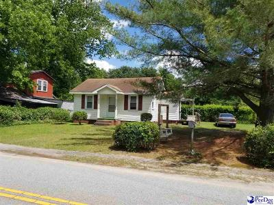 Florence SC Single Family Home For Sale: $49,900