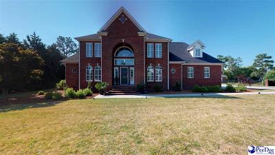 Hartsville Single Family Home For Sale: 1338 Long Leaf Drive