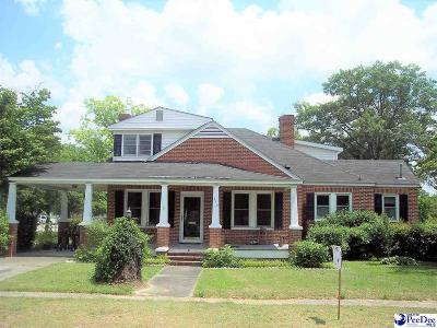 Dillon SC Single Family Home For Sale: $86,000