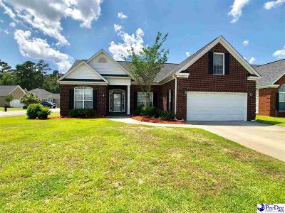 Florence Single Family Home New: 729 Aster Dr
