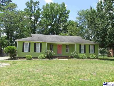 Florence SC Single Family Home New: $133,900