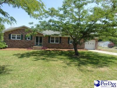 Hartsville Single Family Home New: 1722 Linden Ave