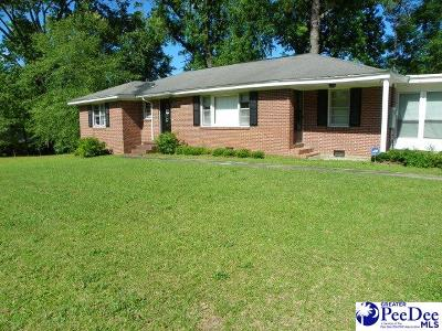 Florence SC Single Family Home For Sale: $134,900