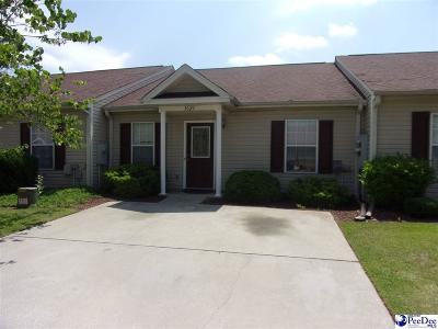 Florence SC Condo/Townhouse For Sale: $89,000