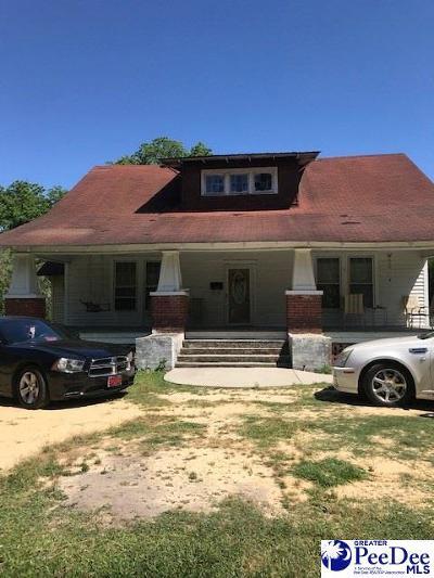 Mullins Single Family Home For Sale: 150 W Laurel St