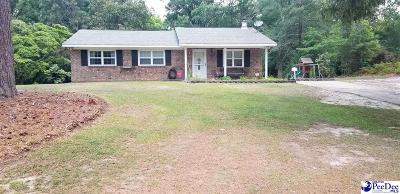 Hartsville Single Family Home Uc/Show For Back Up: 1110 Hunt Drive