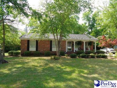 Marion SC Single Family Home For Sale: $132,500