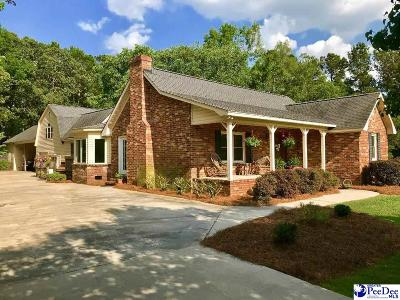 Timmonsville Single Family Home For Sale: 3024 Land Grant Drive