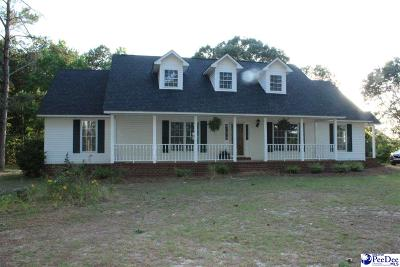 Hartsville Single Family Home Uc/Show For Back Up: 380 Middendorf Rd