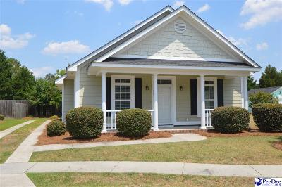 Hartsville SC Single Family Home For Sale: $179,000