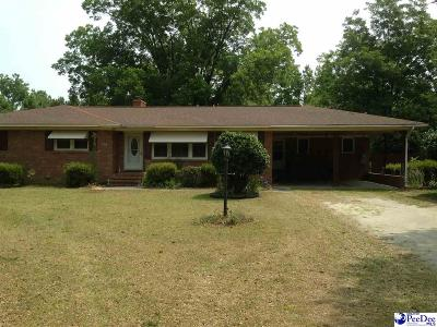 Hartsville Single Family Home Uc/Show For Back Up: 2205 Gallowaytown Road