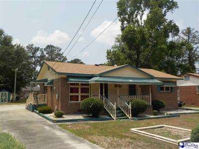 Bennettsville, Blenheim, Cilo, Clio, Mccoll, Tatum, Wallace Single Family Home For Sale: 511 McDuffie Street