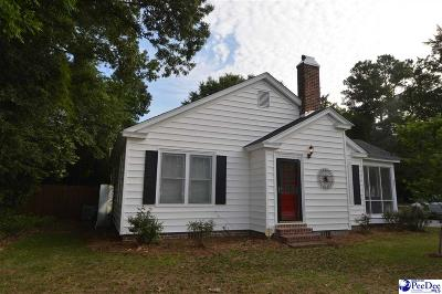 Hartsville Single Family Home Uc/Show For Back Up: 802 W College Avenue