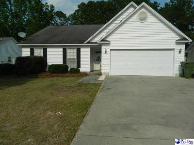 Florence Single Family Home Uc/Show For Back Up: 2318 Julie Ann Drive
