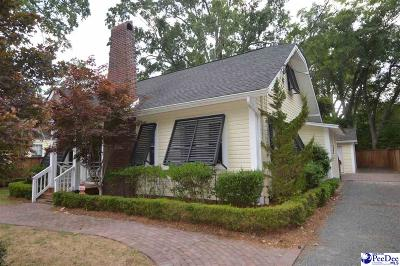 Hartsville SC Single Family Home For Sale: $214,900