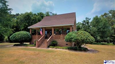 Timmonsville Single Family Home For Sale: 1261 Hibiscus Road