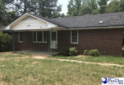 Bennettsville, Blenheim, Cilo, Clio, Mccoll, Tatum, Wallace Single Family Home For Sale: 700 Briar Patch Road