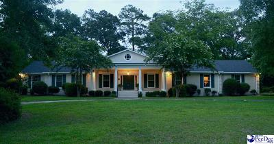 Hartsville SC Single Family Home For Sale: $460,000