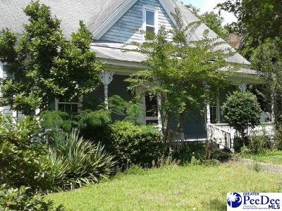 Marion SC Single Family Home For Sale: $29,900