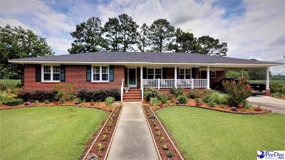 Marion SC Single Family Home For Sale: $179,000
