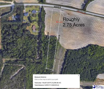 Timmonsville Residential Lots & Land For Sale: 3872 Alligator Rd